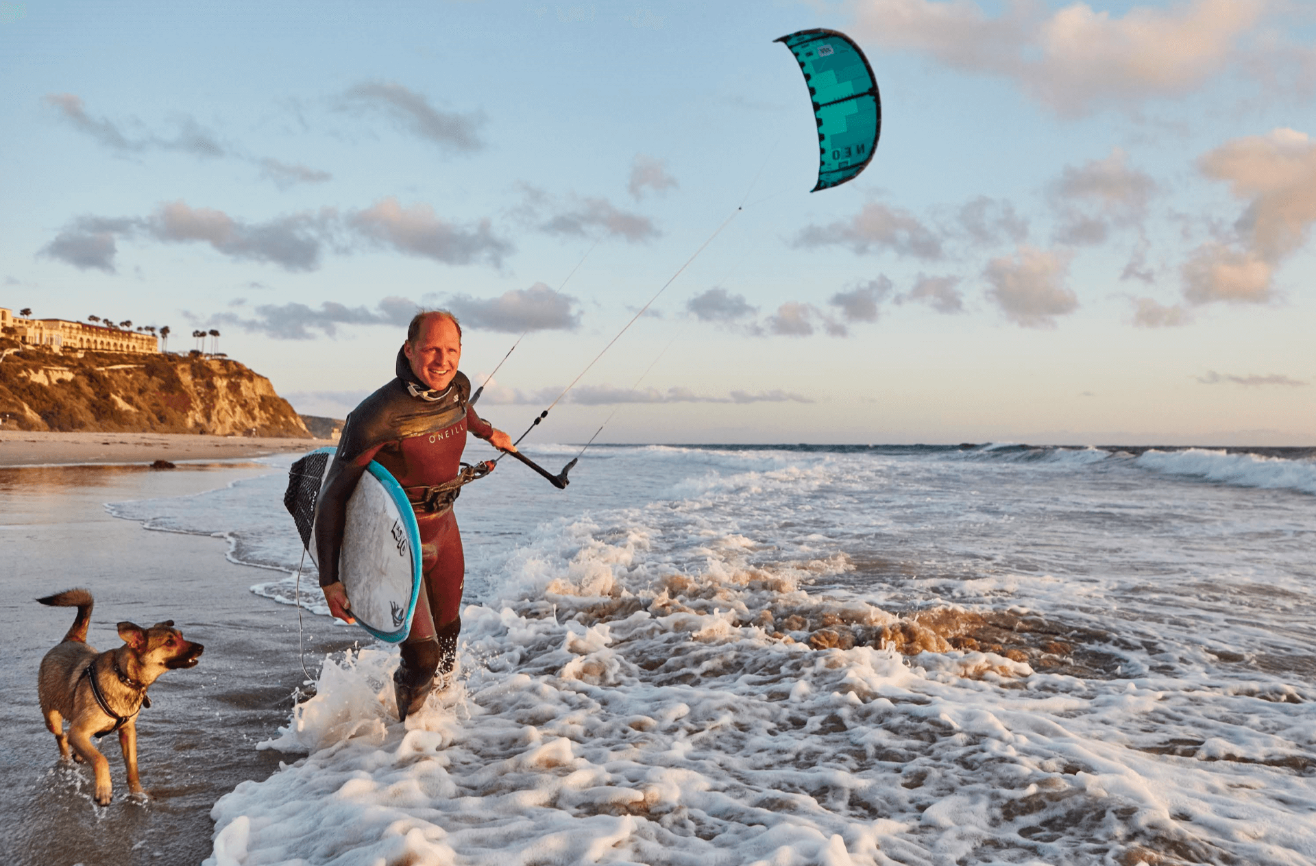 dr. eric vanek surfing picture