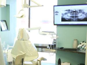 examination area of vanek dentistry